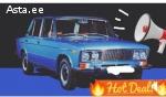 Müüakse Vaz 2106(1976a) Unikaalne seerianumber 0000181