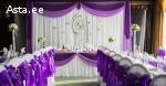 Украшение зала на свадьбу,  торжество